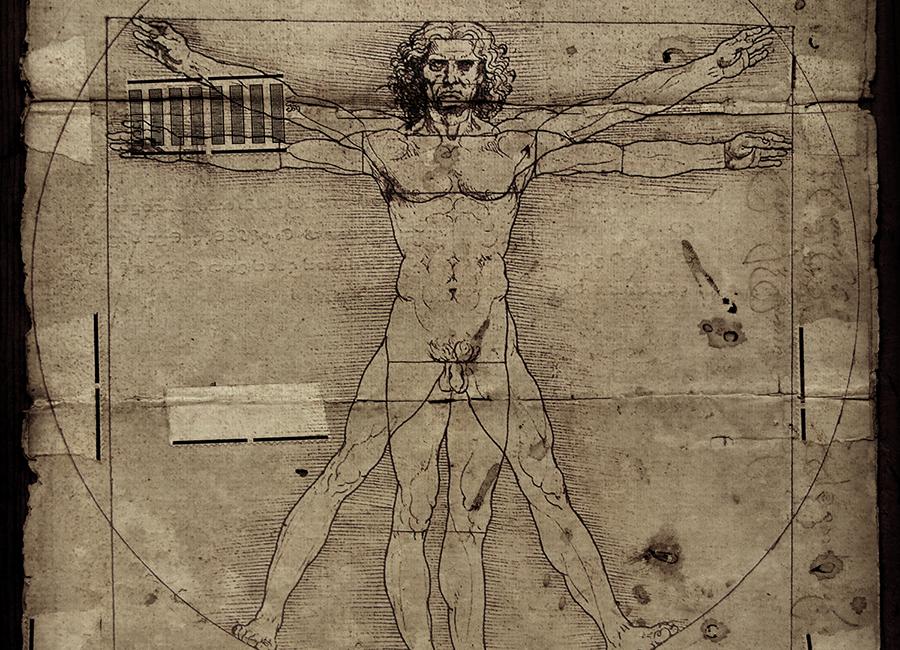 Vitruvian Man Background